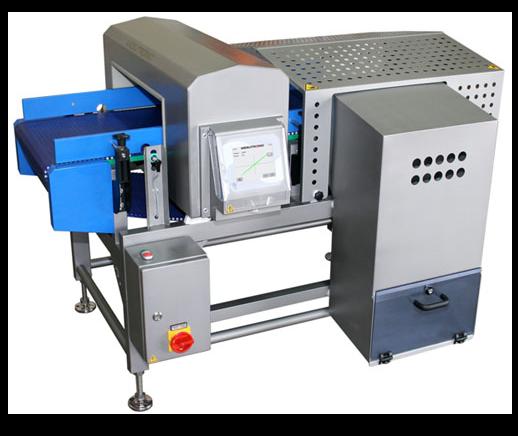 Equipamento industrial de deteção de metais da Mesutronic | IS - Industrial Solutions