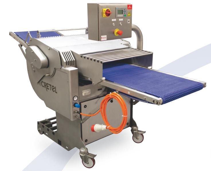 Equipamento industrial de descouratadora da Cretel   IS - Industrial Solutions