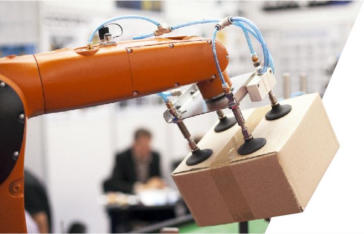 Soluções para a industria costumizadas pela ESI - Engenharia