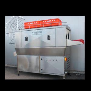 Equipamento industrial de lavar caixas da Kerres | IS - Industrial Solutions