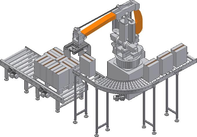 Alinhadores e manipuladores para finais de linha | IS - Industrial Solutions